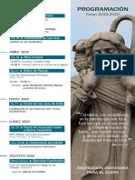 Programación del clero Salamanca 2019-2020