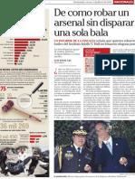 Robo de Armas en Cuartel Guatemala II