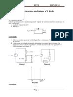 TD2 Diodes Corréction