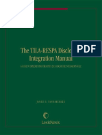 The TILA-RESPA Disclosure Integration Manual_ a Guide to Implementing the CFPB 2015 DI Rule