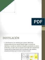 Presentación1 destilacion