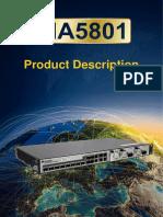 MA5801 Product Description