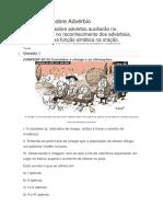 Exercícios Sobre Advérbio  lista - 002-Uphx.docx