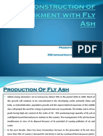 Construction of Embankment with Fly Ash