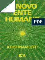 O Novo Ente Humano _ Krishnamurti