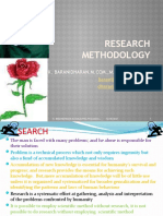 RESEARCH METHODOLOGY - COMMERCE