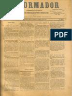 REFORMADOR 15 de Abril de 1897 Jesus-Deus Bezerra de M Responde Revista Religião Espirita RS