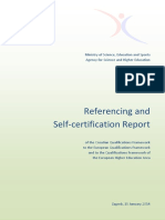 Referencing and Self-certification Report of the CROQF to the EQF and to the QF-EHEA