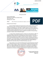 Cert Doc 2019-8-19 Pompeo Cuba FoRB Sanctions Spanish