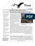 September 2010 Eagle's Nest Newsletter, Kissimmee Valley Audubon Society