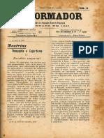 REFORMADOR 1 de Julho de 1908 Doutrina Teosofia e Espiritismo Parte IV 1