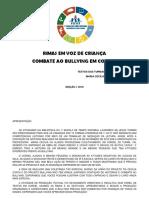 RIMAS EM UMA SÓ VOZ Maria Cecília Silva de Amorim (org)