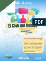 Club Del Debate Secundaria
