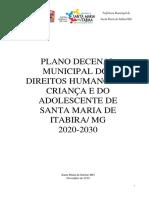 Diagnóstico e Plano Decenal - Versão Final