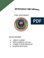 Final Year Project Abdul(0) Dploma