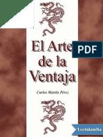 El Arte de La Ventaja - Carlos Martin Perez