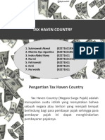 Tax Haven Country