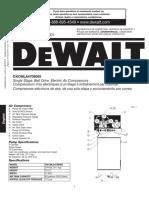 Compresseur Dewalt