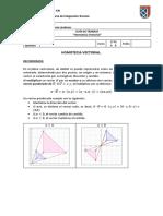 Guia de trabajo Matemática Homotecia Vectorial 1° medio