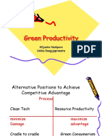 4 MLB Green Productivity