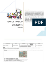 Plan emergente 2°