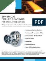 Spherical Roller for Steel Mill -- Sell Sheet