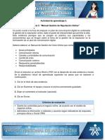 Evidencia 3 Manual Gestión de Reputación Online
