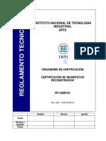 certificación de neumaticos