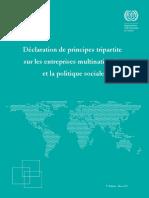 Princ Tripartite Sur Les Entreprises Multinationales