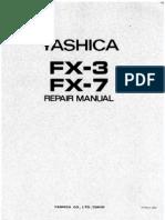 Yashica FX-3 & FX-7 Repair Manual