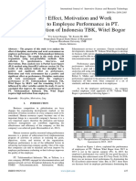 Discipline Effect, Motivation and Work Environment to Employee Performance in PT. Telecommunication of Indonesia TBK, Witel Bogor