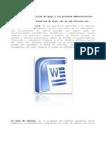 Herramientas informáticas de apoyo a los procesos administrativos