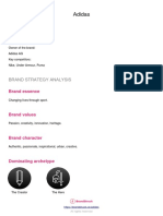 Adidas Integrated Marketing Communications IMC Plan