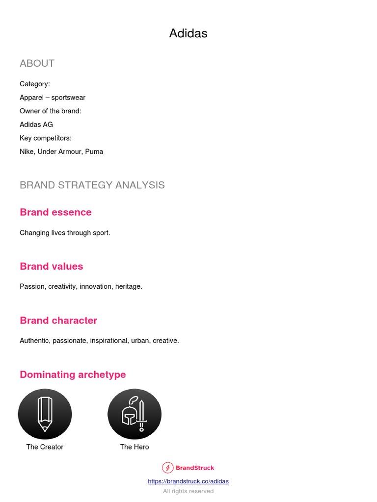 Grapa Pegajoso Delincuente  Adidas Integrated Marketing Communications IMC Plan | Adidas | Brand