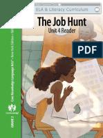 ELA g2 u4 the Job Hunt EngageNY-FKB