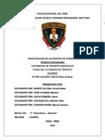 Investigacion de Accidentes de Transito Monografia