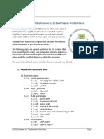 CCNP Core Enterprise Topics