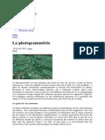 La photogrammétrie Voyage en photos.docx
