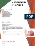 Equpo 2 Tromboembolia Pulmonar