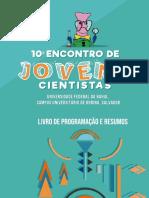 LIVRO DE RESUMOS ENCONTRO DE JOVENS CIENTISTAS