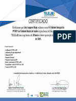 Certificado -CIPVHIV_Cuidado Integral Da PVHIV