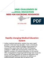 Emerging Challenges in Medical Education