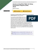 Introduction to Smartplant Pid the Piping Instrumentation Diagrams Pid Handbook by Jagadeesh Pandiyan 0615339212