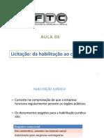C.C. II - aula 06 - Licitação contrato.ppt