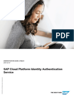 SAP Cloud Platform Identity Authentication Service