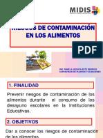 riesgos de contaminacion alimentos