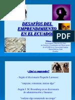 Desafíos del prendimiento en el Ecuador