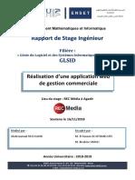 Rapport de Stage - Gestion Commerciale
