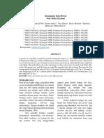 Journal 6. Kemampuan Kerja Hewan