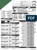PF2 - Ficha de Personagem (V3) - Editável e Calculável